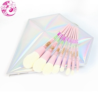 ENERGY Brand Profession 8 piece set of diamond cover brush Make Up Makeup Brushes Pinceaux Maquillage Brochas Pincel S105S