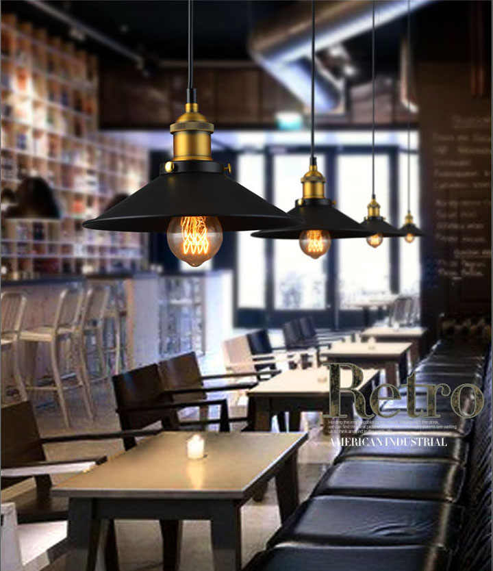 Светильник Декор промышленный светильник Лофт стиль Винтаж Ретро Свет e27 держатель барная стойка ресторана многоступенчатая люстра
