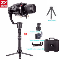 Zhiyun Crane Plus 3 Axis Handheld Gimbal Stabilizer 2.5KG Payload for Sony Panasonic Canon Nikon Dsrls Camera Without Batteries