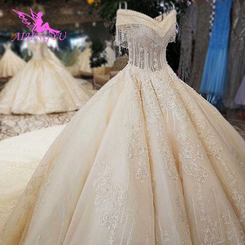 AIJINGYU Wedding Dress Bridal Gowns