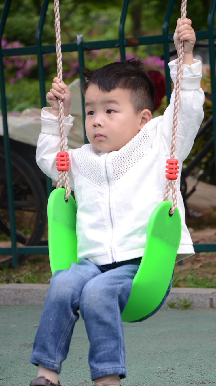 Soft EVA Plate U-shaped Swing Child Kids Outdoor Play Game Toy Swing Seat Hanging Chair new eva plastic hanging basket baby kids swing seat safety kids child outdoor garden park play swing