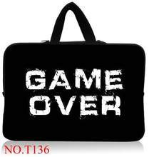 f4391c8bfb17 Game Over Computer Accessories Neoprene Laptop Bag Cases Notebook Sleeve 7  10 12