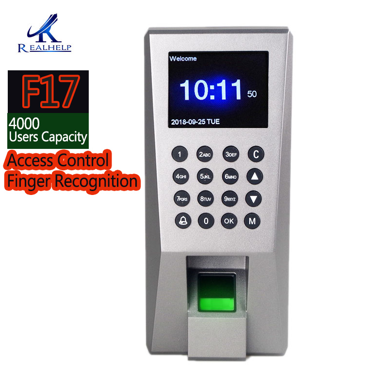 Fingerprint Attendance 2000Fingerprin Capacity Keyboard Access Control Finger Recognition Employee Attendance Monitoring Machine