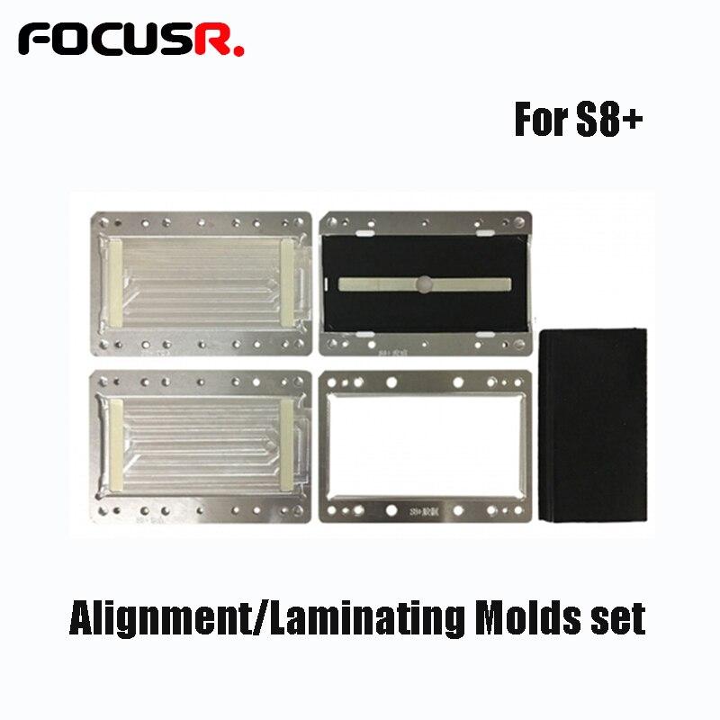 Для samsung S8 S8 плюс S9 S9 плюс ЖК дисплей Экран ламинирование Mold ЖК дисплей Стекло ОСА Выравнивание Плесень разгибается шлейф для YMJ машины