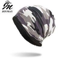 Joymay, зимние осенние вязаные шапки, шапка унисекс, одноцветная, Спортивная, теплая, мягкая, с черепом, вязаная шапка, шапки Touca Gorro, шапка s для мужчин и женщин, WM103