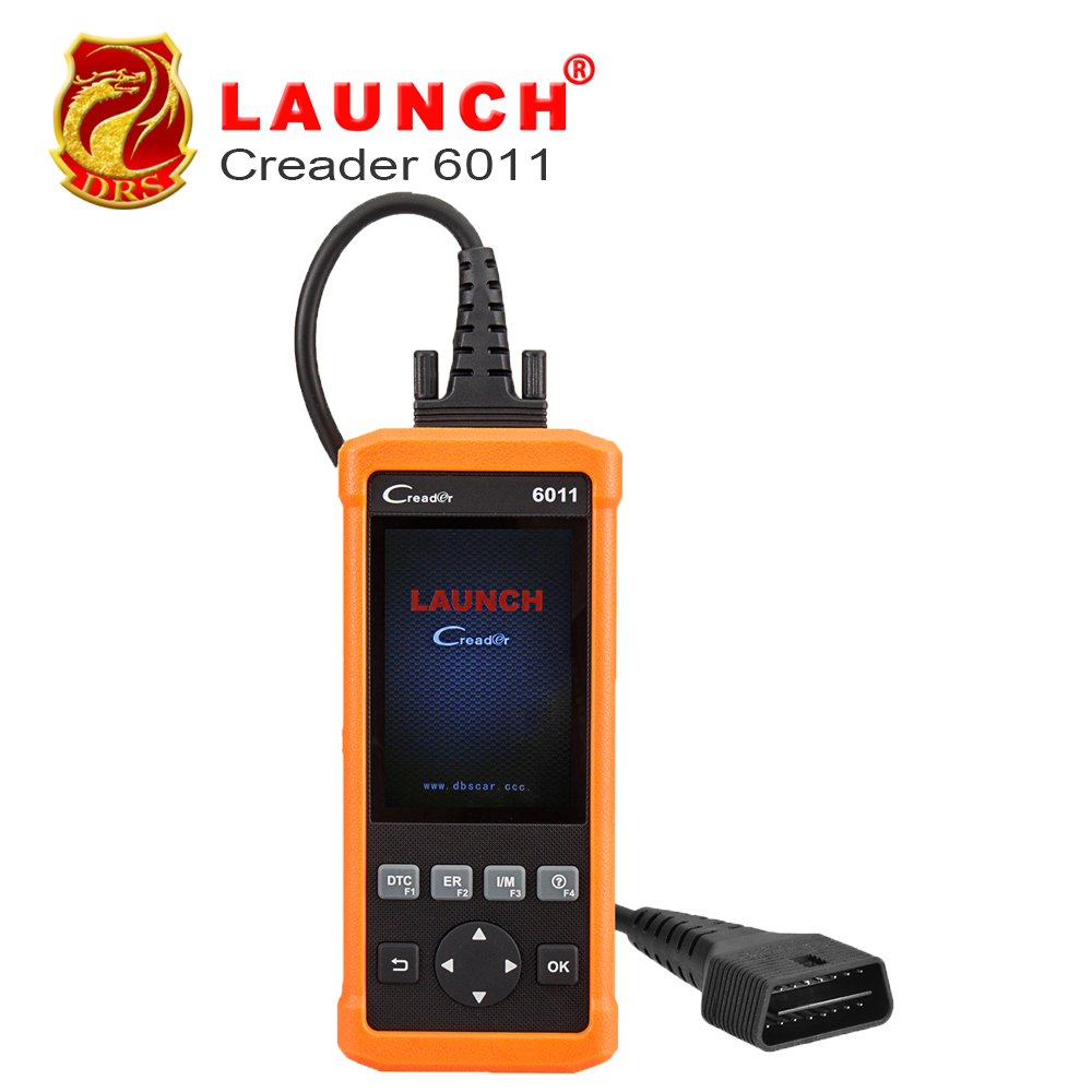 Launch CReader 6011 OBD2 EOBD Car Scanner Diagnostic Tool with ABS and SRS System Diagnostic Functions Code Reader Online update car diy scanner launch creader 519 obd2 eobd code reader scanner read vehicle information car diagnostic tool free update online