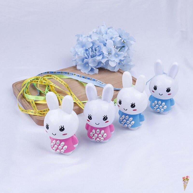 1 Stück Kreative Kleine Weiße Kaninchen Geschichte Maschine Für Kinder Kinder Spaß Spiel Geschenke Baby Früh Lernen Pädagogisches Spielzeug