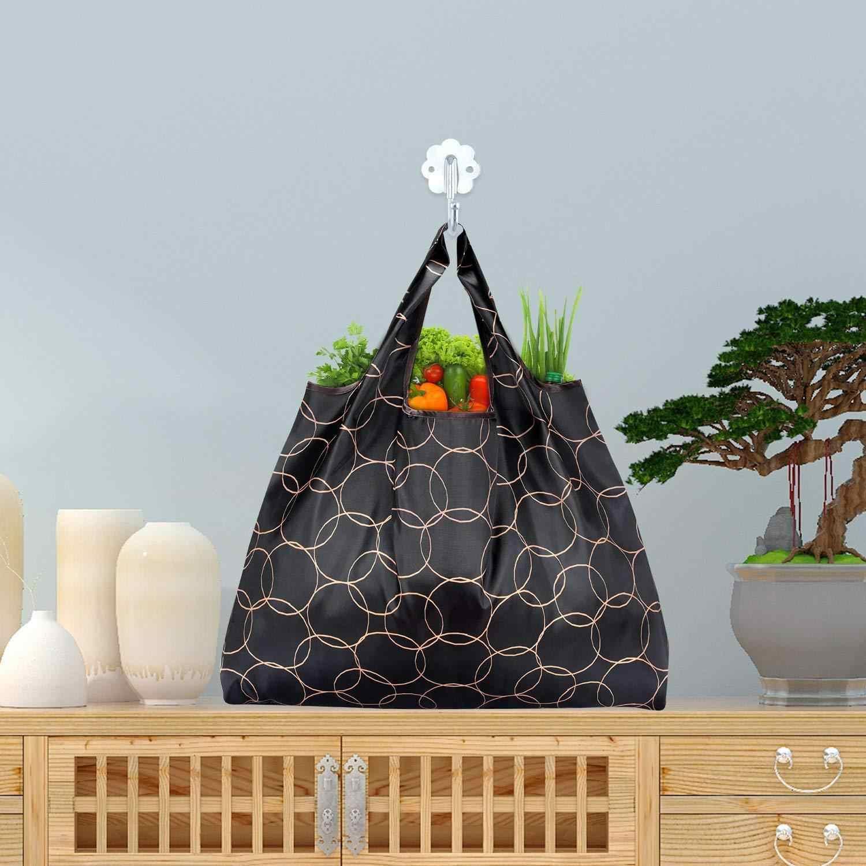 Unisex składane poręczna na zakupy torba duża torba z rączkami wielokrotnego użytku etui recyklingu wodoodporne torby do przechowywania próbki podróży torba