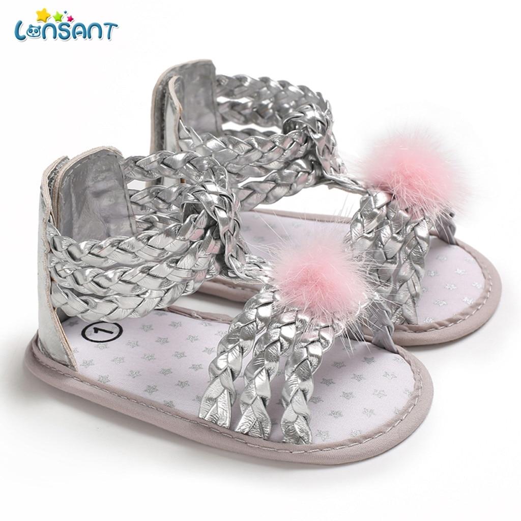 ecaae27d3a9f7 LONSANT Sandales Enfants Sandalias Infantis Par Menina Kinderschuhe Filles  Sapato de recem nascido Menina Bébé En Plein Air Chaussures ...