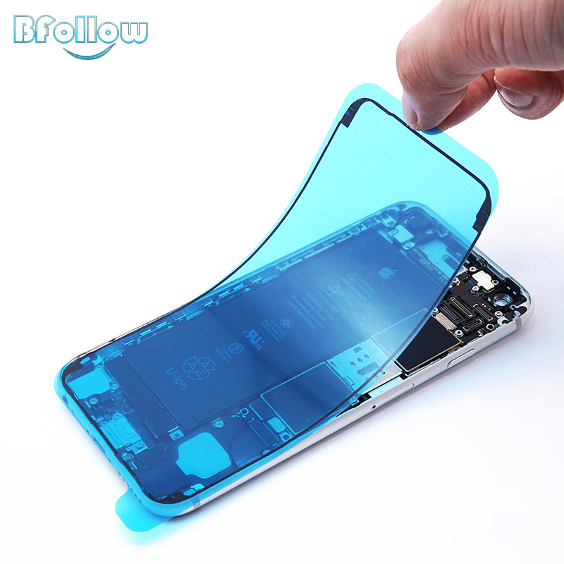 BFOLLOW Original Waterproof Frame Sticker For IPhone 6S 7 8 Plus / X XS XR XS Max Double-sided Seal Repair Phone Housing LCD