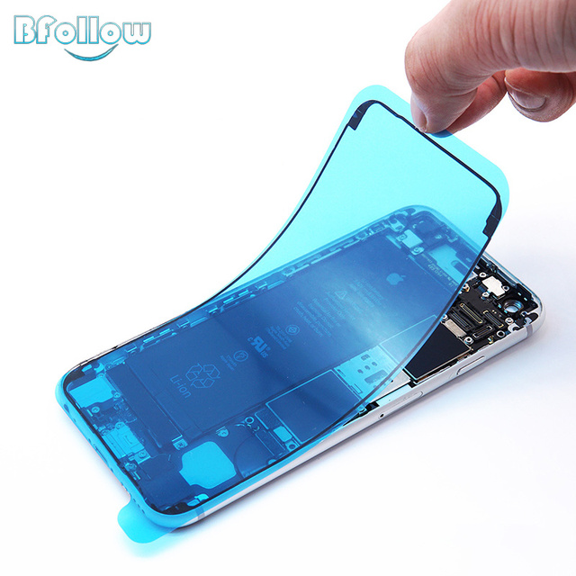 BFOLLOW Original Waterproof Frame Sticker for iPhone 6S 7 8 Plus / X XS XR XS Max Double-sided Tape Repair Phone Housing LCD