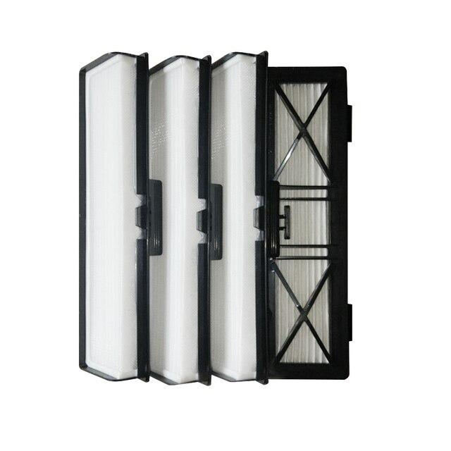 4 adet elektrikli süpürge filtreleri HEPA filtre Neato Botvac bağlı D3 D5 D7 ve Botvac D serisi D75 D80 d85 ve tüm 70e 75 80 85 filtre