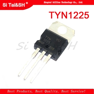 10Pcs/Lot TYN1225 1225 Triac thyristor 1200V 25A TO-220 New Original Product