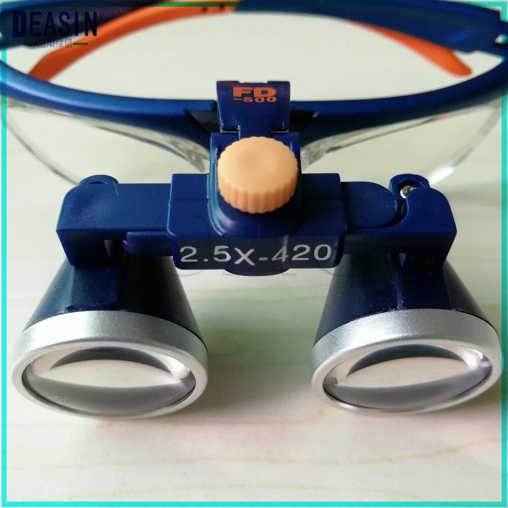 Dental Loupes 2 5X 3 5X Portable Dentist Surgical Medical Binocular Optical