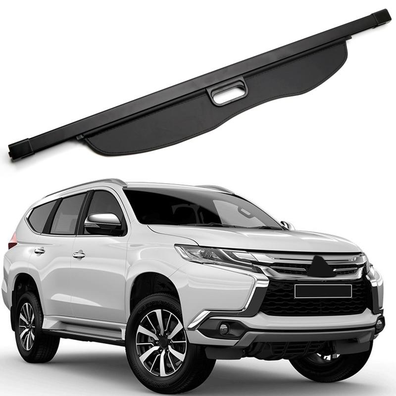 цена на For Mitsubishi Pajero SPORT / Montero SPORT / Shogun Sport 2016 2017 2018 Black Car Rear Trunk Cargo Shade Cover Security Shield