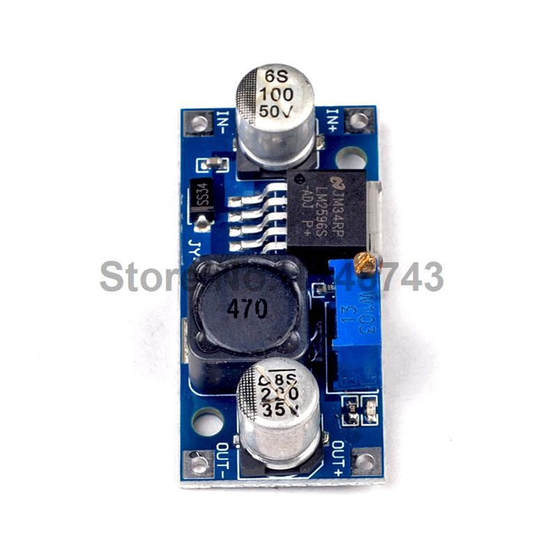 1PCS DC-DC Buck Converter Step Down Module LM2596 Power Supply Output 1.23V-30V Hot Selling