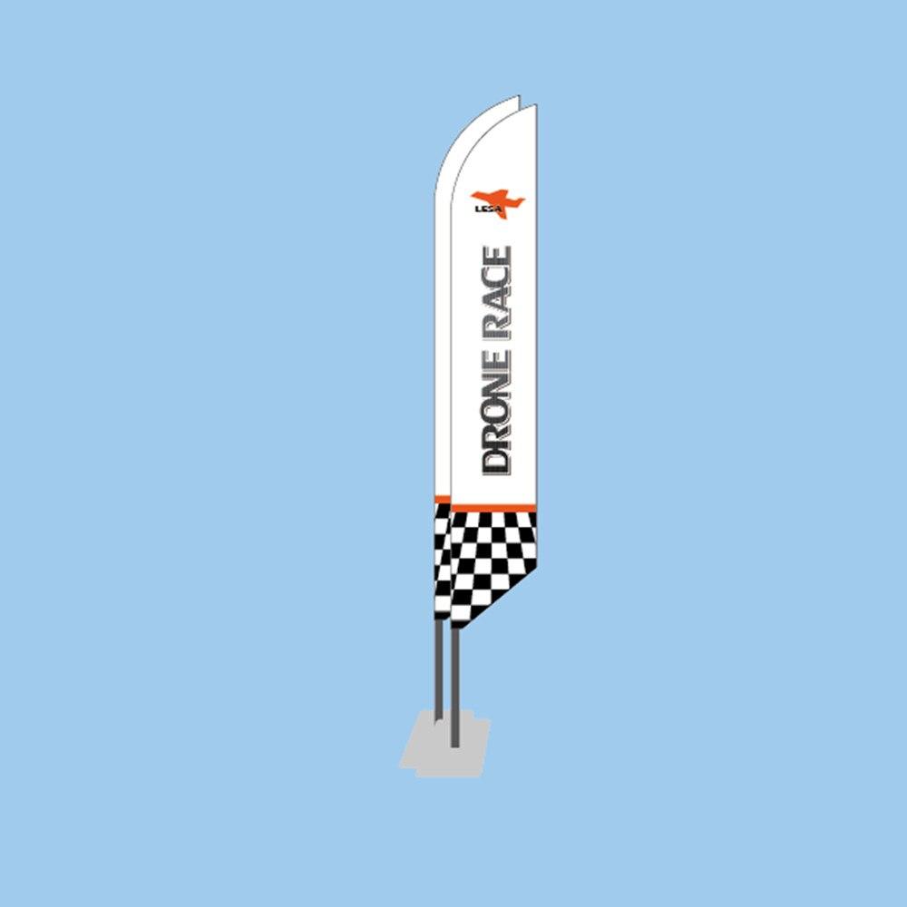 Квадрокоптер LESA Flag 125 FPV, закрытый Дрон для квадрокоптера TinyWhoop индуктивность E010 JJRC H36, белый или на заказ