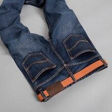2016 Бесплатная доставка Brand джинсы обычные прямые твердые джинсы в розницу модные высококачественного хлопка бренда Slim мужские джинсы