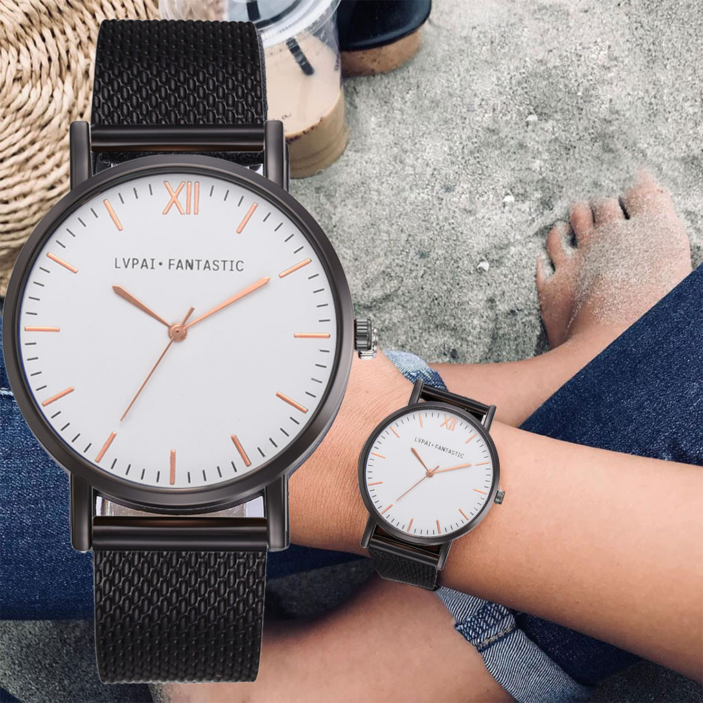 Women's Casual Quartz silicone Band New Strap Watch Analog Wrist Watch Simple Women's Watch Silicone Watches
