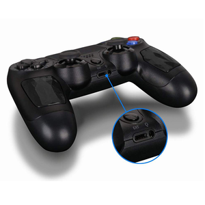 Image 4 - 용 PS4 컨트롤러 핸들 무선 블루투스 게임 joypad 듀얼 충격 진동 조이스틱 PlayStation 4