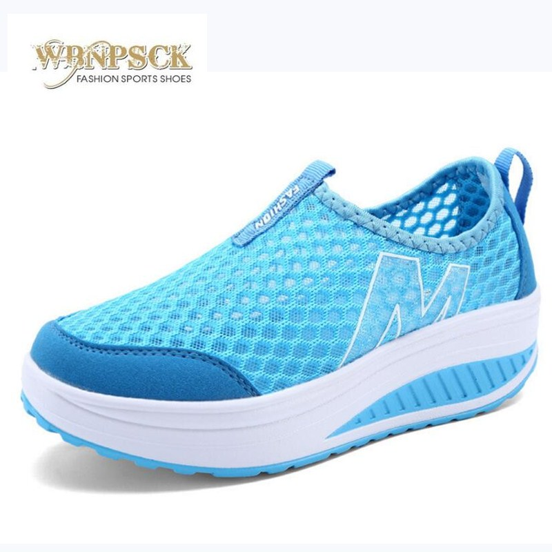 New Womens Shoes Casual Sport Fashion Shoes Walking Flats Height Increasing Women Loafers Breathable Air Mesh Swing Wedges ShoeNew Womens Shoes Casual Sport Fashion Shoes Walking Flats Height Increasing Women Loafers Breathable Air Mesh Swing Wedges Shoe