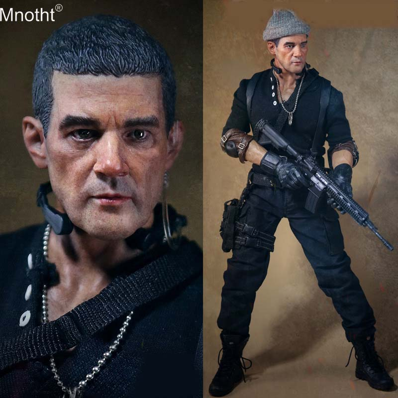 Mnotht AF023 1/6 Soldiers Fortune 4 Mercenary Toy Model Male Clothes Accessory for 12 Collectible Action Figure mb