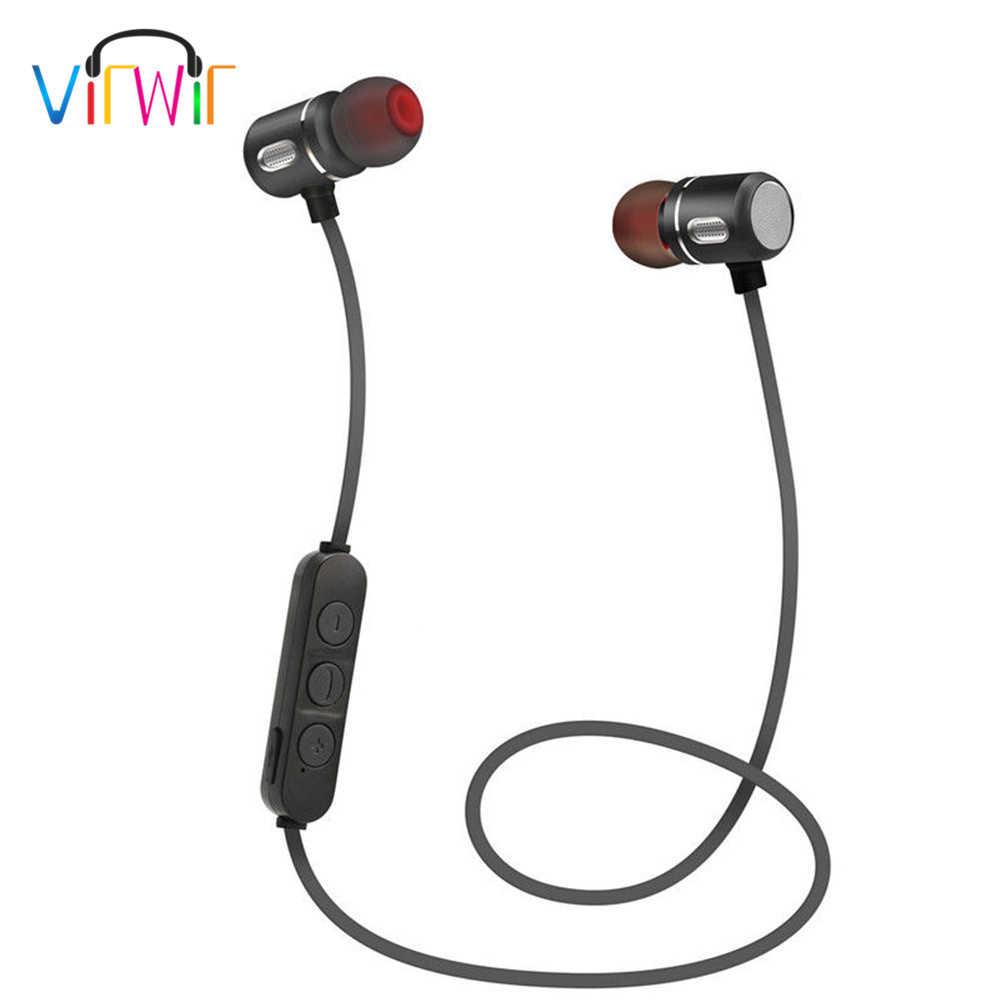 Virwir Wireless sports Headphone Bluetooth Earphone Headphone For Phone Neckband sport earphone Hands free Auriculare