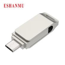 USB 2,0 ESHANMU 8 ГБ 16 ГБ 32 ГБ 64 Гб смартфон для samsung OTG USB флэш-накопитель микро-флеш-накопитель смартфон для телефона Android