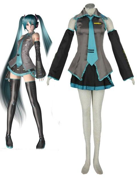 Vocaloid Hatsune Miku Levan Polkka Vocaloid Full Set In Cosplay Costume