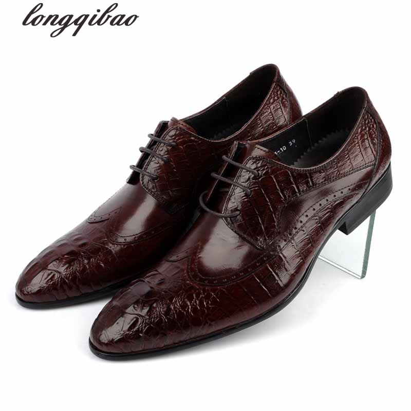 New Brand mens dress shoes genuine leather comfortable designer crocodile grain men shoes flats for wedding party branded men s penny loafes casual men s full grain leather emboss crocodile boat shoes slip on breathable moccasin driving shoes