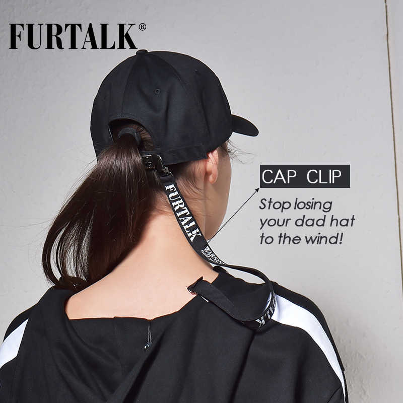 FURTALK לבן כובעי עבור נשים וגברים בייסבול כובע קיץ אופנה snapback כובע בנות boyas היפ הופ כובע streetwear