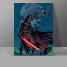 Darth Vaders Ambition Canvas Starwars Movie Poster Painting Wall Pictures Bedroom HD Print Hanging