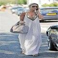 Новый Сексуальный Женщины Лето Рукавов Длинное Вечернее Платье Пляж Платья