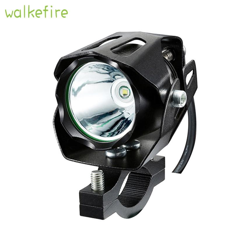 Electric Bike Light 1000 Lumens 12-72V Input E Bike Headlight Aluminum Housing