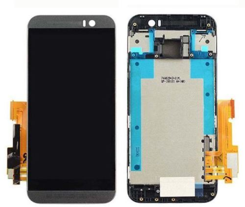 New LCD Display Touch Screen Digitizer Assembly For HTC One M9 with frame Replacement free shipping for htc one mini lcd 601e m4 lcd display with touch screen digitizer assembly free shipping 100