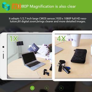 Image 5 - Оригинальная смарт камера Xiaomi Mijia CCTV Xiaofang с цифровым зумом IP 110 градусов F2.0 8X 1080 P, WIFI, беспроводная камера управления, ночное видение