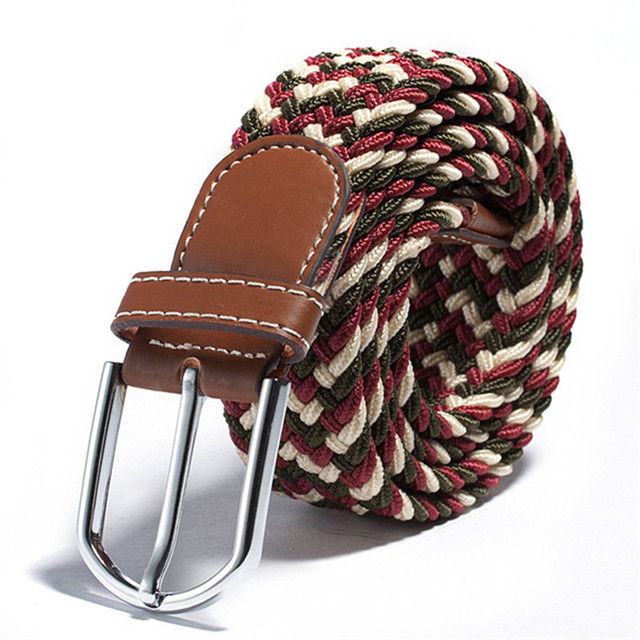 Variety of Casual Style Braided Belts