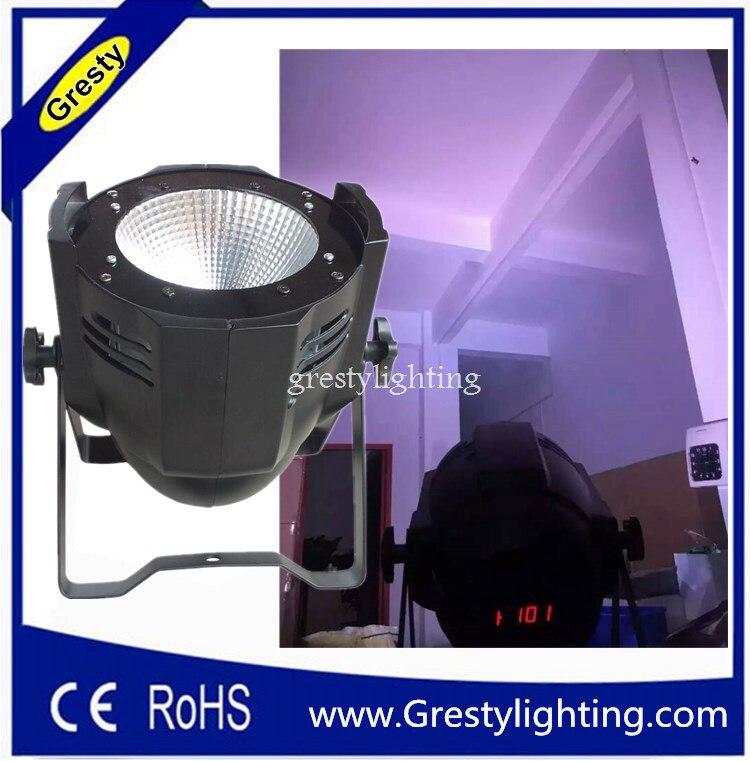 Led удара номинальной света с алюминиевым корпусом, RGBW супер Яркость светодиодный модуль (COB), DMX 512 контроллер 90 В 240 В LED PAR