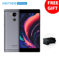 Vernee Apollo Smartphone Helio X25 Deca Core 5.5 2K Display 4G RAM 64G ROM 21.0MP Cell phones 4G Lte VR Android6.0 Mobile Phone