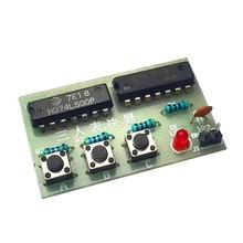 diy kit 3 voting machine suite three voting machine electronic production training kit parts DIY circuit