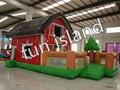Весело и giant надувной вышибалы дом для дети