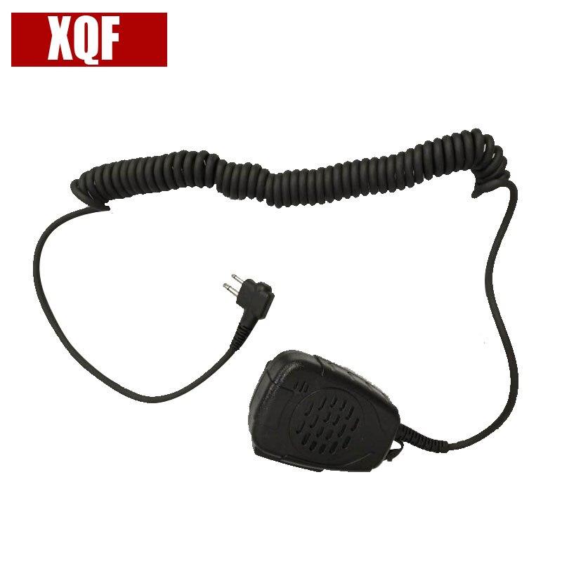 XQF Waterproof Noise Cancelling Speaker Mic For Motorola Radio GP88 EP450 Mu11c,Mu12,CLS1110,CLS1410