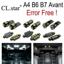 23 unid X Sin Error Libre LED bombilla luz interior Kit Paquete para Audi A4 S4 RS4 Quattro B6 B7 Avant Wagon SÓLO (2002-2008)