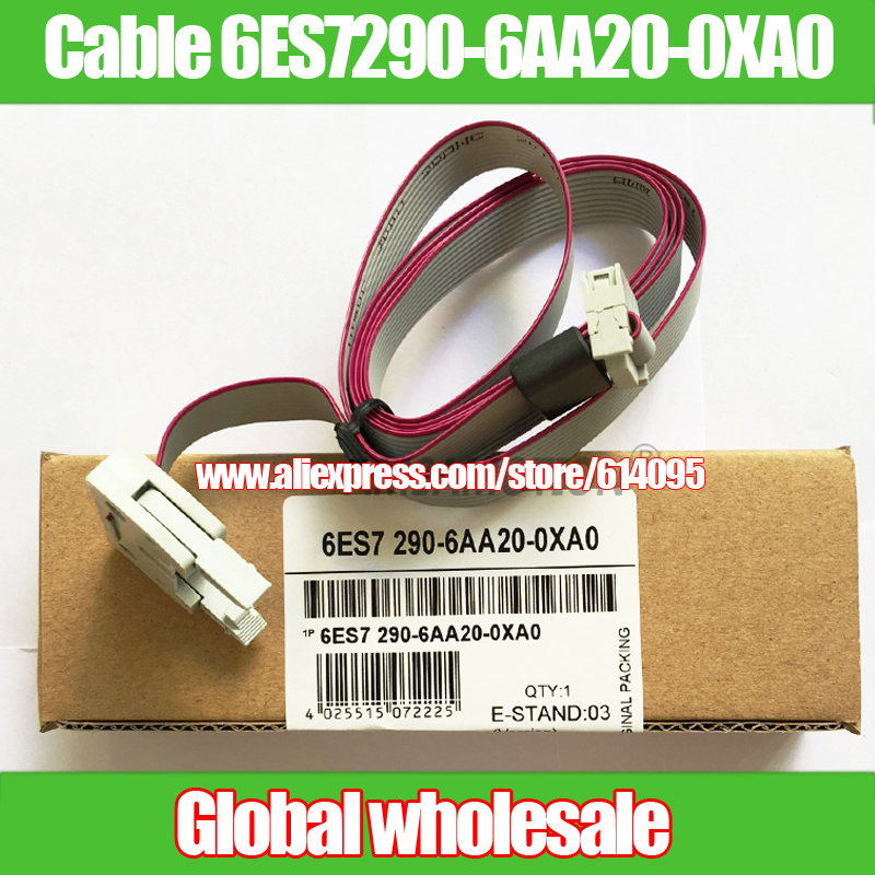 US $8 9 |1pcs S7 200 I/O Extension Cable 6ES7290 6AA20 0XA0 for Siemens PLC  Connection Modules / Electronics Production Machine-in Electronics