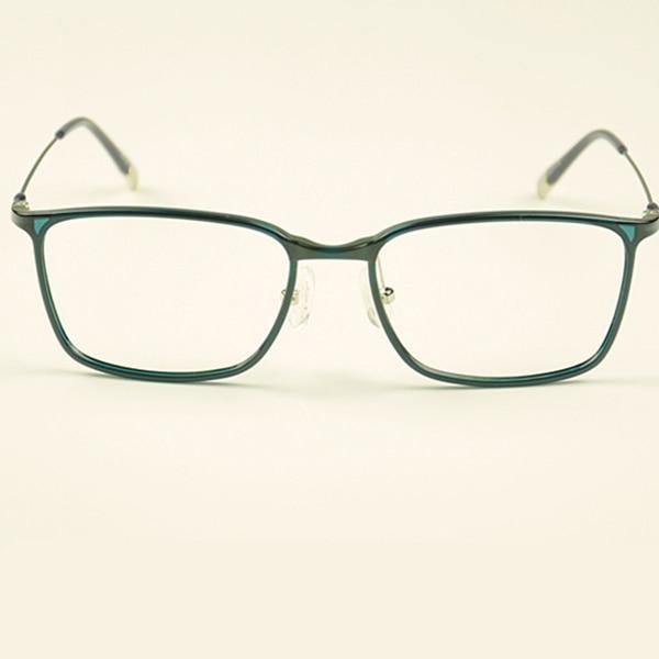 Fashion Square Brillengestell Männer Kunststoff Titan Brillen - Bekleidungszubehör - Foto 4