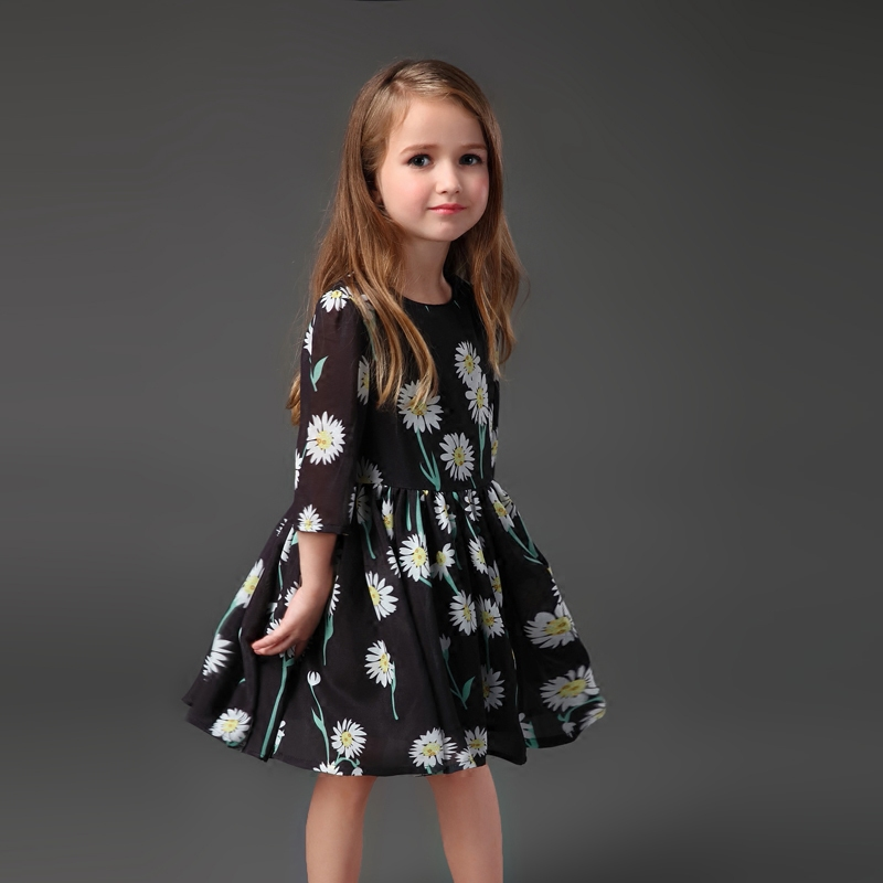 Summer family look chiffon children clothing baby toddle flower girls party dress mother daughter matching mom and kids dresses family matching outfits mom kids baby toddle girl holiday party dress children clothing sets mother daughter summer lace dresses