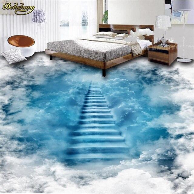 Bekannte Beibehang Individuelle Fototapeten Boden Abdeckung Malerei Cloud FG08