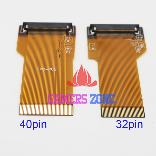 US $2 38 5% OFF|For Game Boy Advance GBA Ribbon Cable 40 Pin AGS 101  Backlit Adapter Screen Mod-in Replacement Parts & Accessories from Consumer