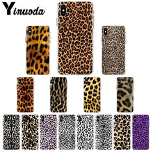 Yinuoda giraffe leopard tiger zebra Wild Print Customer High Quality Phone Case for iPhone X XS MAX 6 6S 7 7plus 8 8Plus 5 5S XR