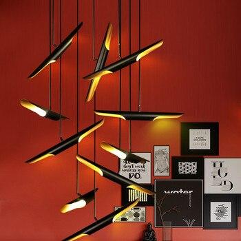 Nordic Delightfull Coltrane Lighting Art Aluminum Dining Room Pendant Light Coffee Shop Bar Lights Designer Lights Free Shipping